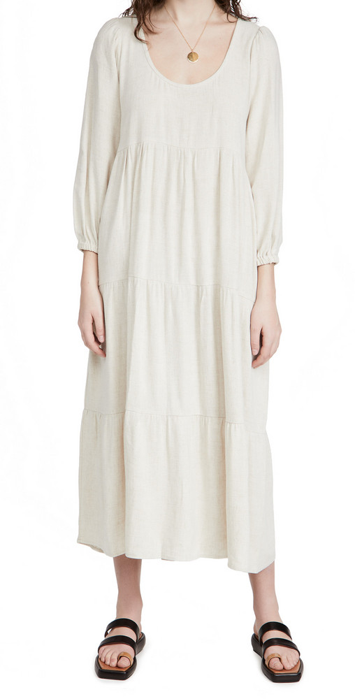 Rachel Pally Linen Alice Dress in natural