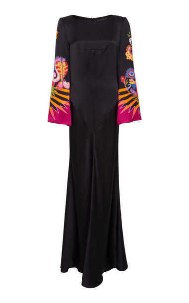 Etro Rahon Gown in black