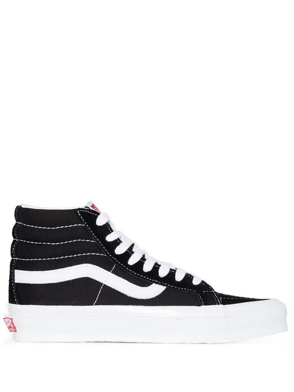 Vans SK8-Hi LX suede high-top sneakers in black