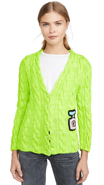 Michaela Buerger Cardigan in green