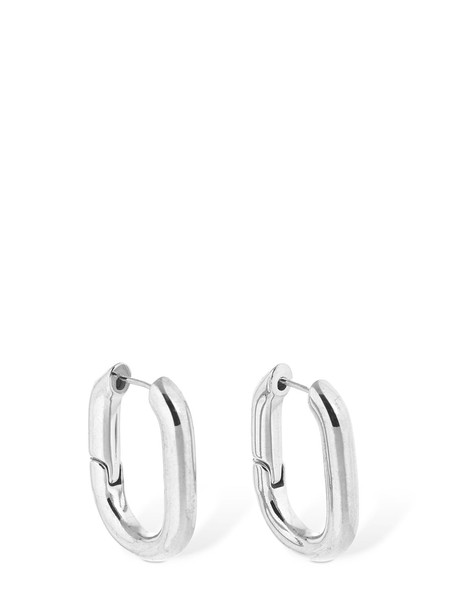 FEDERICA TOSI Christy Hoop Earrings in silver