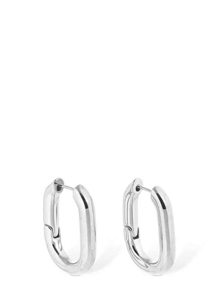 FEDERICA TOSI Christy Hoop Earrings in silver