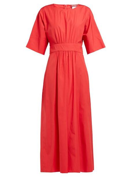 Max Mara Studio - Cima Dress - Womens - Red