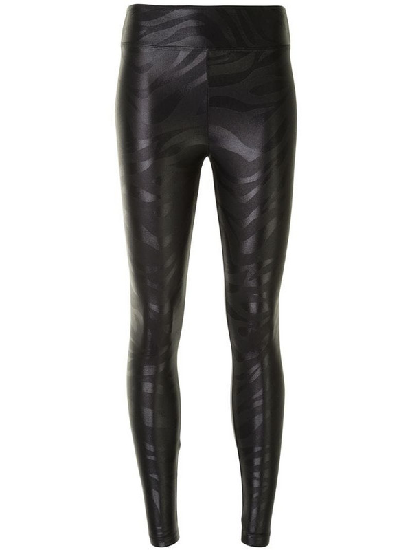 Koral Lustrous Gouffre leggings in black