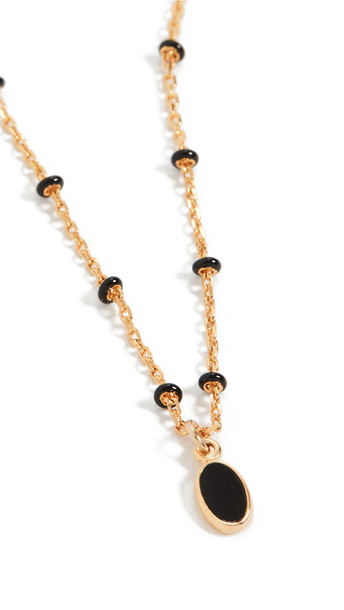 Isabel Marant Médaille Necklace in black