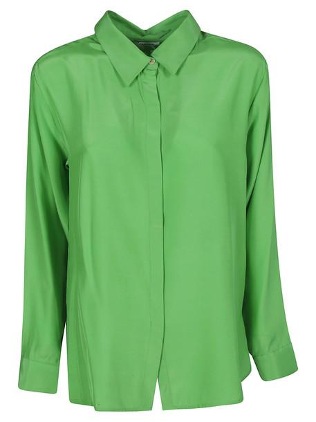 Parosh Long-sleeved Shirt in green