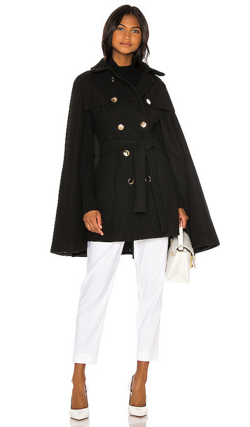 ELLIATT X REVOLVE Florence Cape in Black