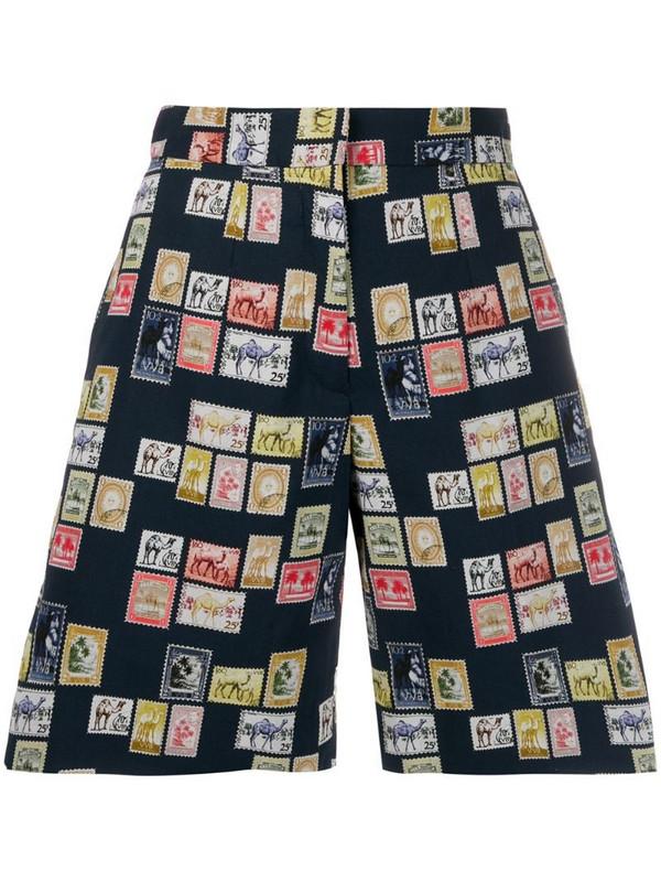 Victoria Victoria Beckham tailored postage stamp shorts in black