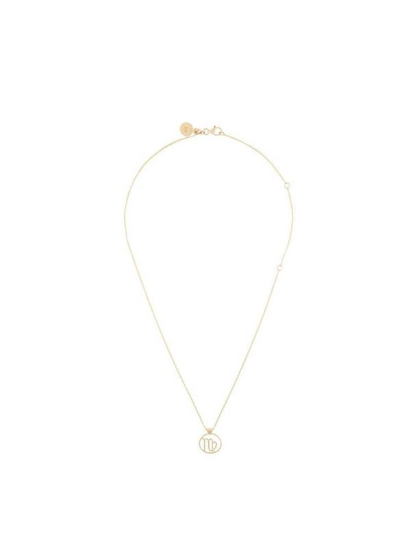 Karen Walker Virgo necklace in metallic