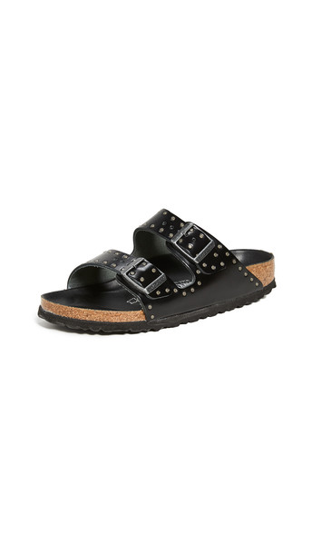 Birkenstock Arizona Sandals - Narrow in black