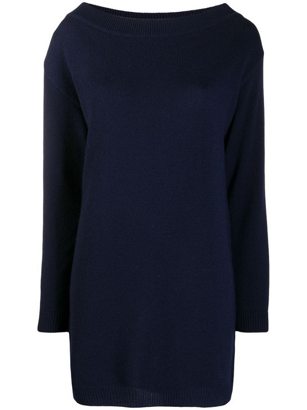Valentino fine-knit cashmere jumper in blue