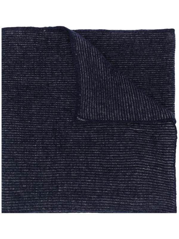 Stephan Schneider Perelman's ribbed scarf in blue
