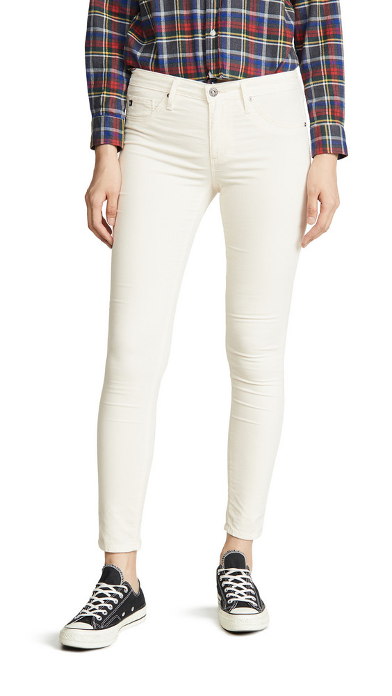 AG The Ankle Leggings in ivory