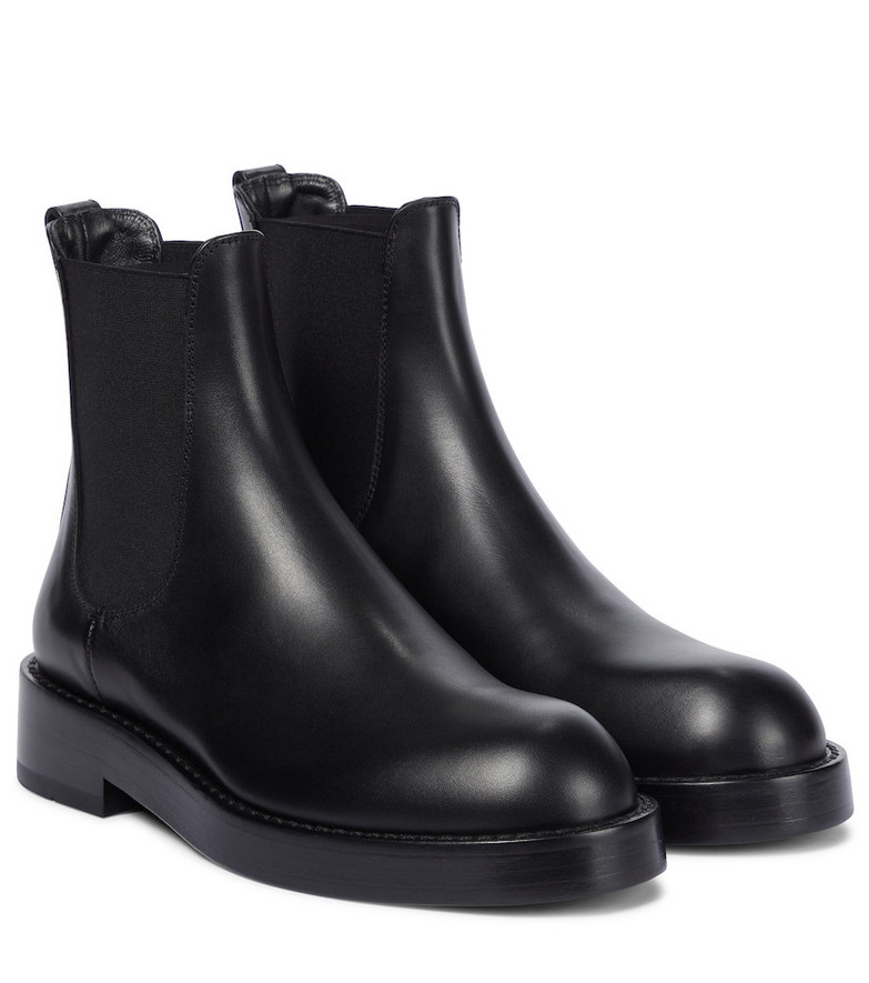 Ann Demeulemeester Stef leather Chelsea boots in black