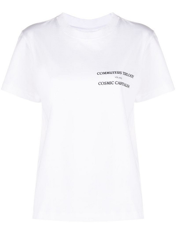 Soulland Fae T-shirt in white