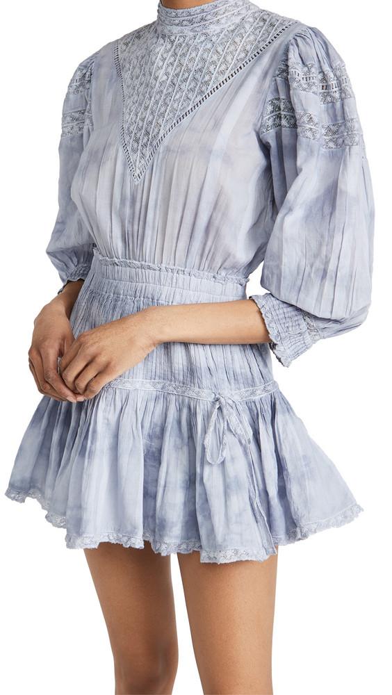 LOVESHACKFANCY Viola Dress in denim / denim