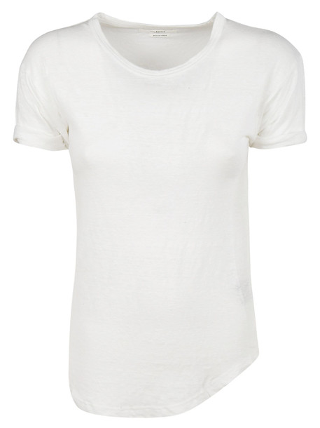 Isabel Marant Asymmetric T-shirt in white