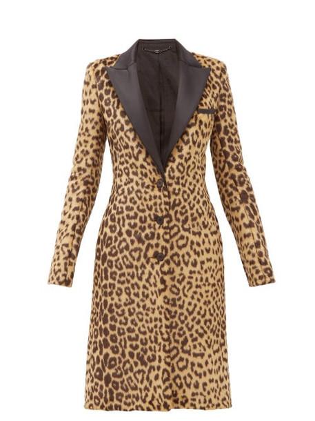 Paco Rabanne - Leopard-print Faux Fur Coat - Womens - Leopard