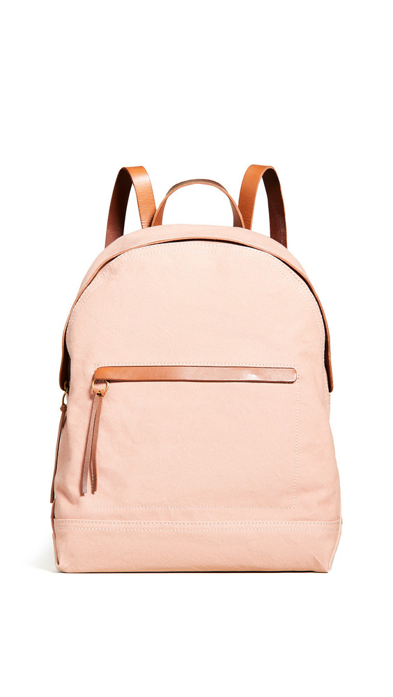 Madewell The Charleston Backpack in coral