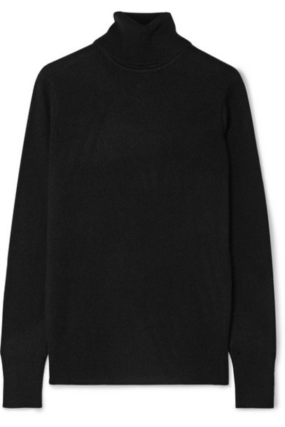 Equipment - Delafine Cashmere Turtleneck Sweater - Black
