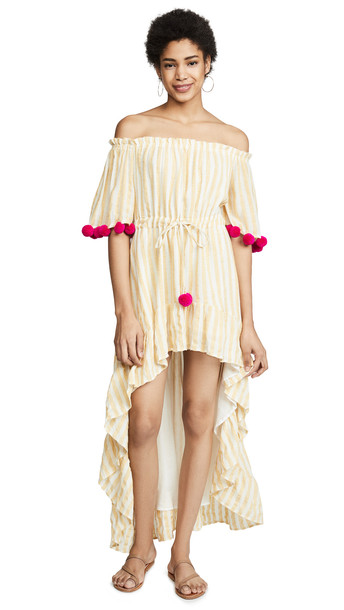 841ff7cc10a SUNDRESS Alena Cover Up Dress in pink   yellow - Wheretoget