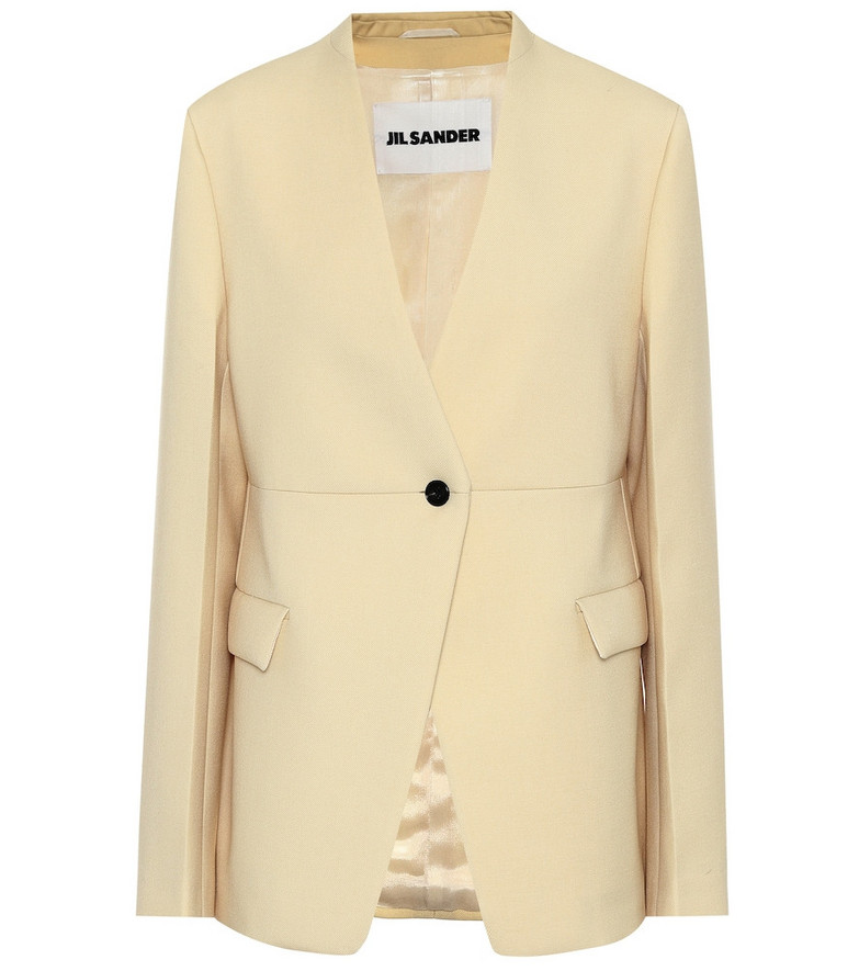 COLOVOS Wool blazer in beige