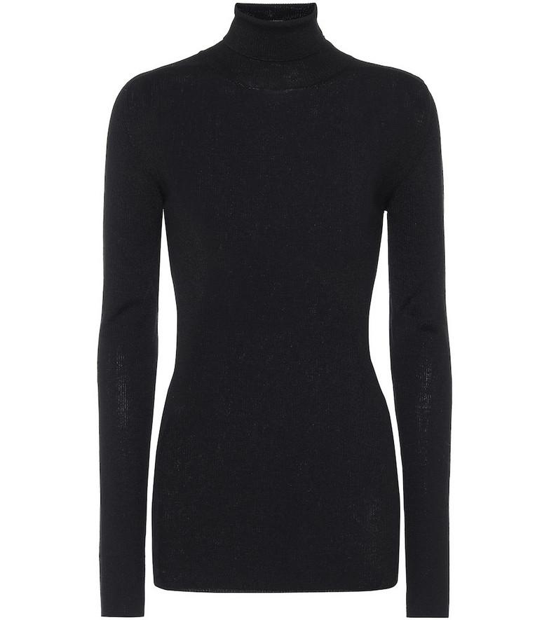 WARDROBE.NYC Merino wool turtleneck sweater in black