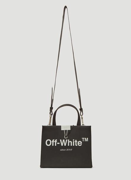 Off-White Mini Box Bag in Black size One Size
