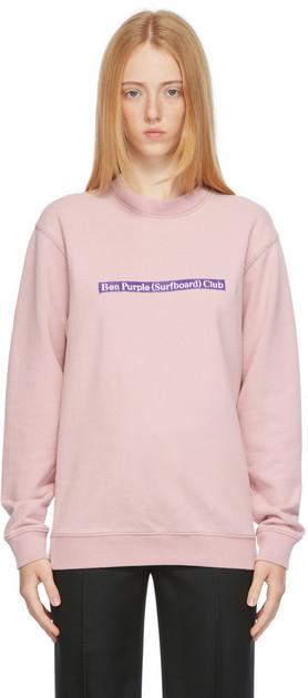 Stockholm (Surfboard) Club Stockholm (Surfboard) Club Purple Mer Label Sweatshirt