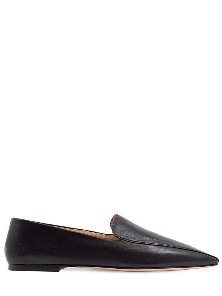 STUDIO AMELIA 10mm Leather Loafers in black