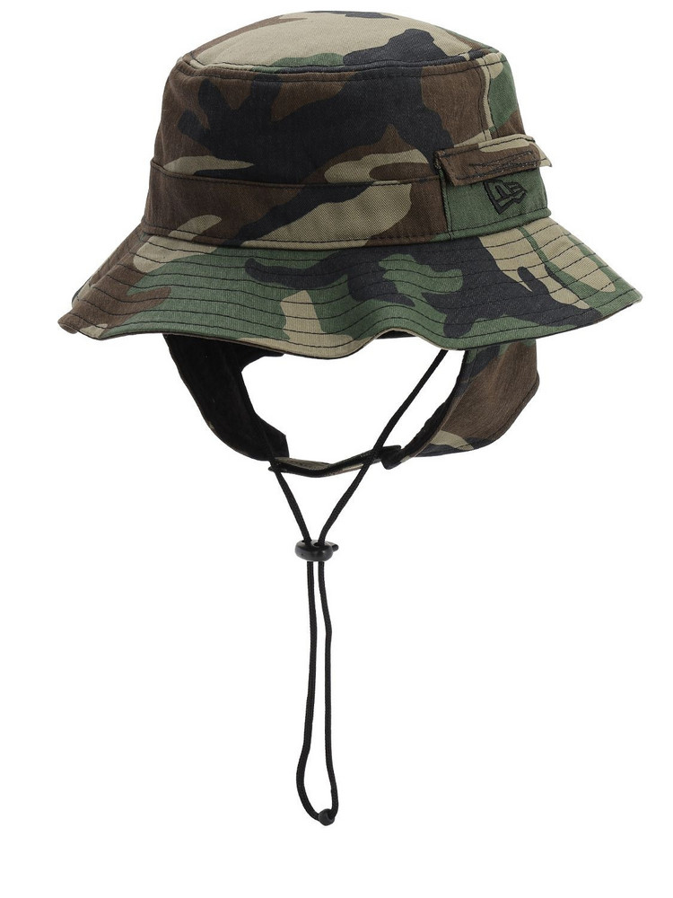 New Era Adventure Dogear Bucket Hat in green