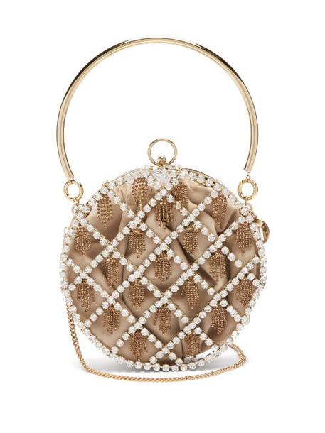 Rosantica By Michela Panero - Gautier Crystal Handbag - Womens - Crystal