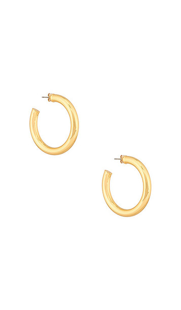 Five and Two Jill Earring in Metallic Gold