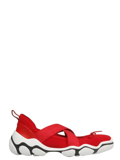 Red Valentino Cross Strap Sneakers