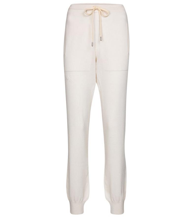 Barrie Cashmere sweatpants in beige