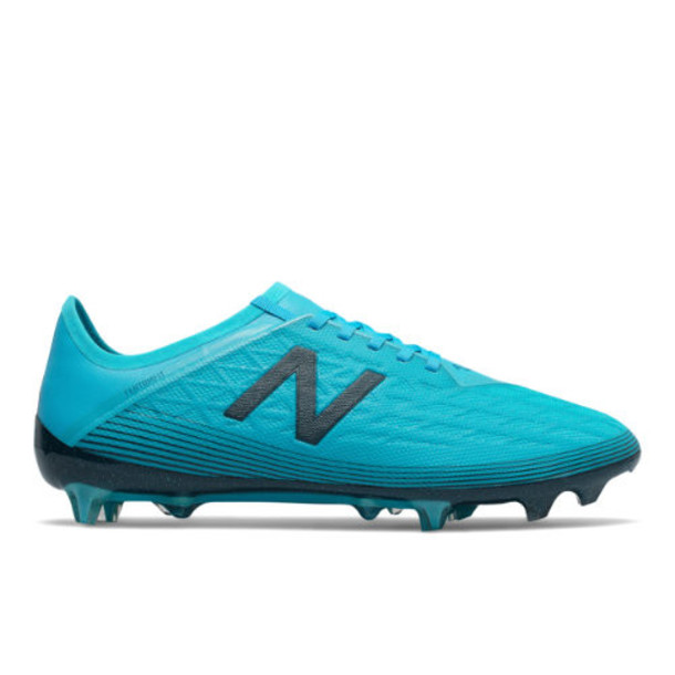 New Balance Furon v5 Pro FG Men's Soccer Shoes - Blue/Green (MSFPFBS5)