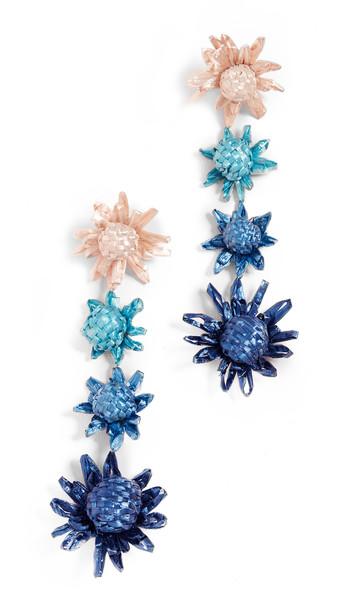 All Things Mochi Habiska Earrings in blue
