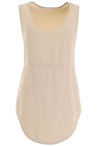 See by Chloé See by Chloé Extra Long Top in ivory / white