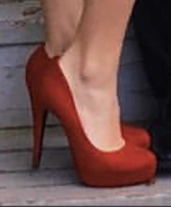 shoes red pumps