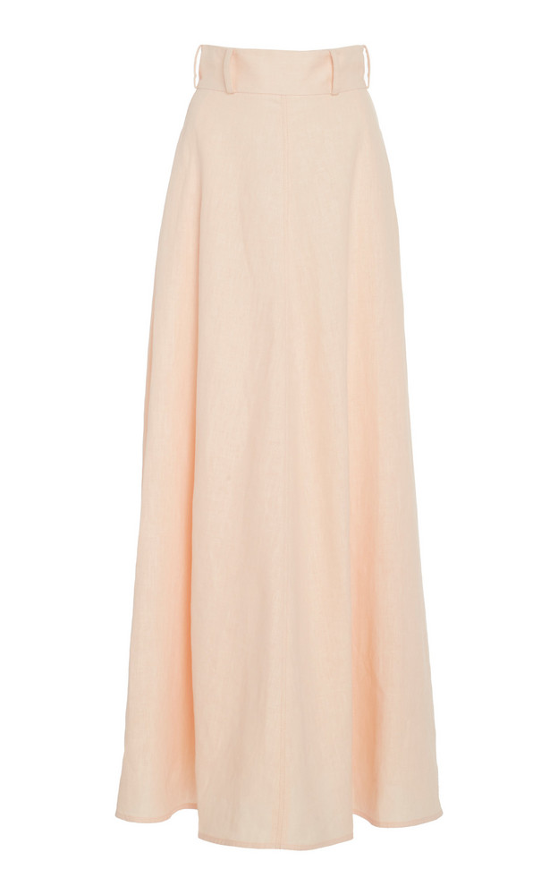 Zimmermann Linen Maxi Skirt Size: 2 in neutral