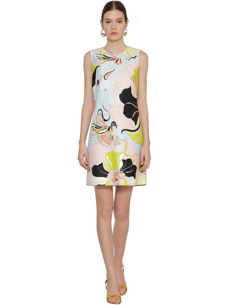 EMILIO PUCCI Printed Twill Dress
