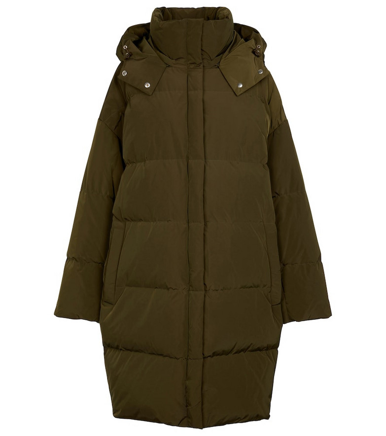 Stand Studio Lyla quilted down coat in green