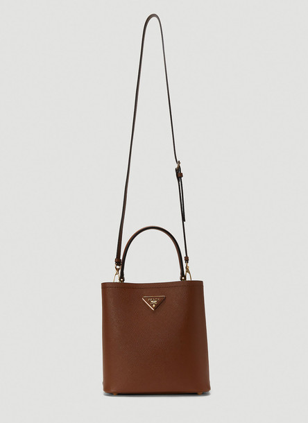 Prada Classic Shoulder Bag in Brown size One Size