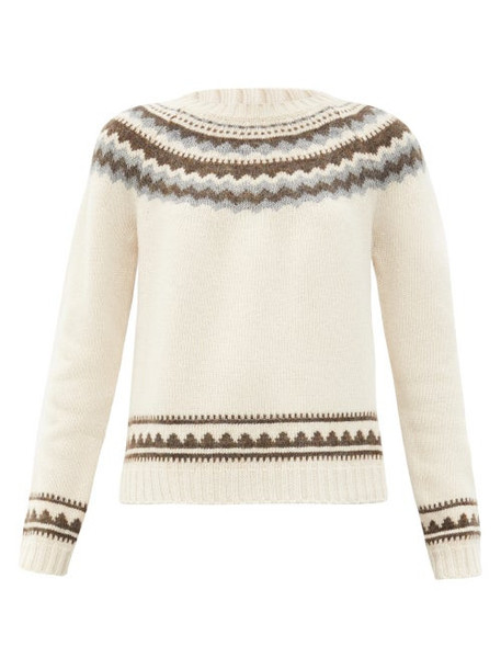 Weekend Max Mara - Ravello Sweater - Womens - Ivory Multi