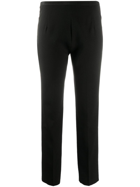 Etro mid-rise slim-fit trousers in black
