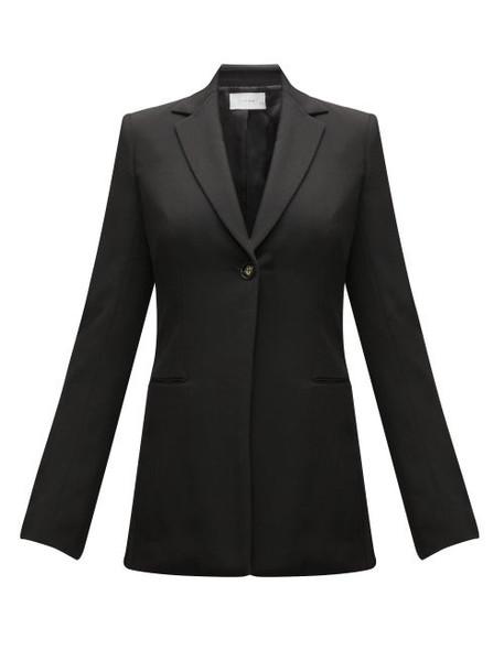 The Row - Kiro Single-breasted Twill Blazer - Womens - Black