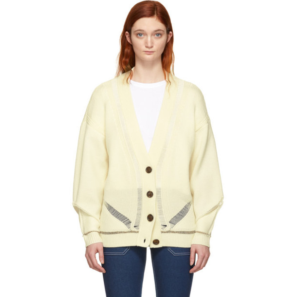 See by Chloé See by Chloé White Oversized Cardigan