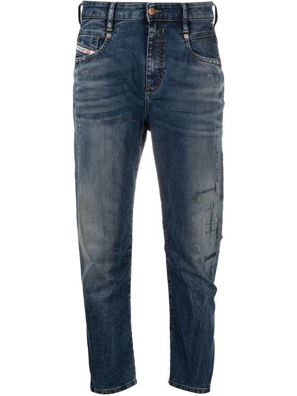 Diesel Fayza boyfriend jeans in blue