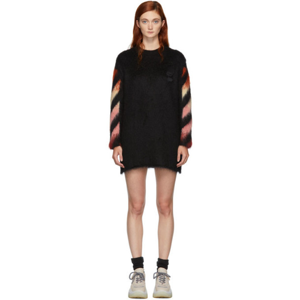 Off-White Black and Red Arrows Dress