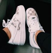 shoes,nike air force 1,af1,checkered,white,nike,nike shoes,nike af1